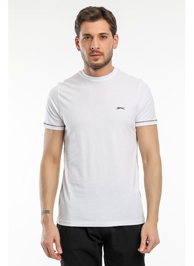 Slazenger Slazenger MOPET Erkek T-Shirt  Beyaz